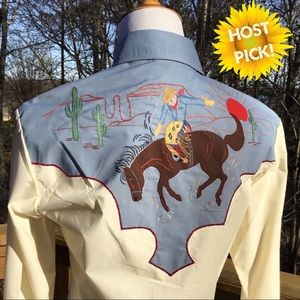 RARE ROCKING K RANCHWEAR BY KENNINGTON Western